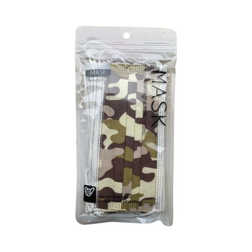 goedkope-3-laagse-mondkapjes-met-camouflage-print-verpakt